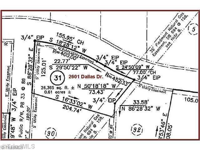 2601 Dallas, Winston Salem, NC 27107 (MLS #714060) :: Ward & Ward Properties, LLC