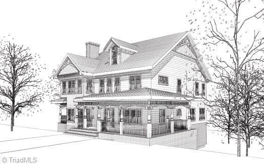 236 Glade View Court, Winston Salem, NC 27101 (MLS #782967) :: Kristi Idol with RE/MAX Preferred Properties