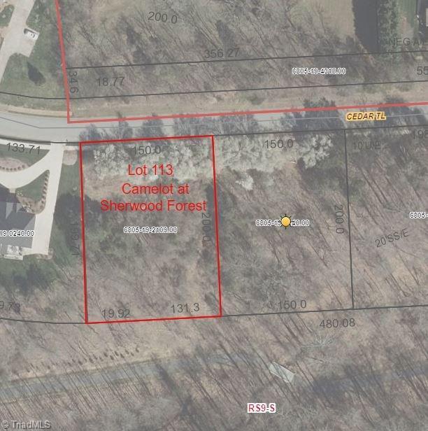 358 Cedar Trail, Winston Salem, NC 27104 (#843525) :: Mossy Oak Properties Land and Luxury