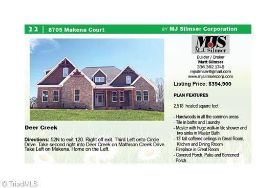 8705 Makena Court, Rural Hall, NC 27045 (MLS #912914) :: RE/MAX Impact Realty