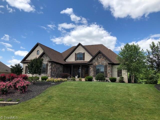 131 Cobblestone Walk Drive, Greensboro, NC 27455 (MLS #931617) :: HergGroup Carolinas