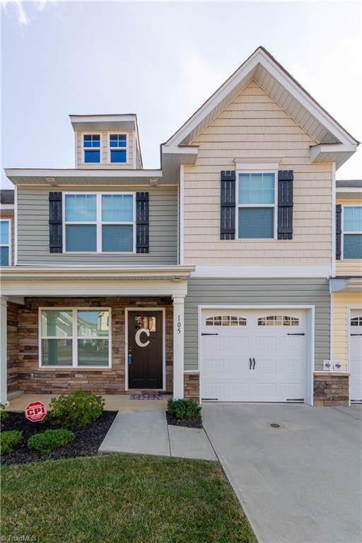105 Tilleys Grove Drive, Kernersville, NC 27284 (MLS #952341) :: Ward & Ward Properties, LLC