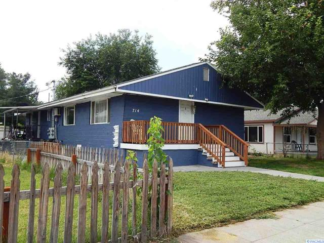 714 W Park St, Pasco, WA 99301 (MLS #232100) :: Premier Solutions Realty