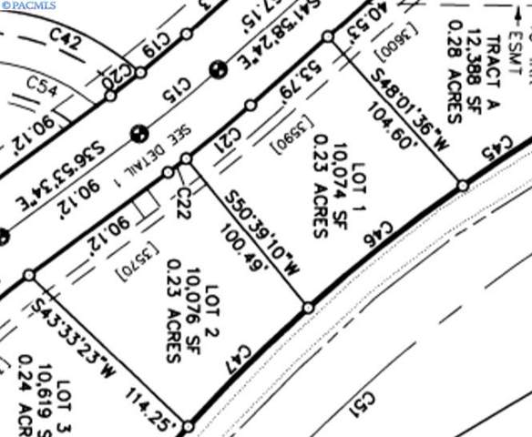 Lot 1 Bing St, West Richland, WA 99353 (MLS #242911) :: Premier Solutions Realty