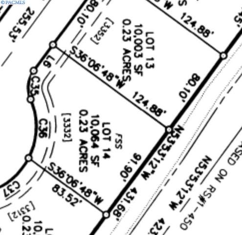 Lot 14 Bing St, West Richland, WA 99353 (MLS #242913) :: Premier Solutions Realty