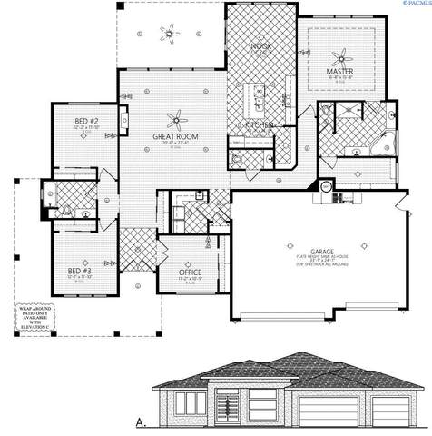 3982 Highview St, Richland, WA 99352 (MLS #257372) :: Shane Family Realty