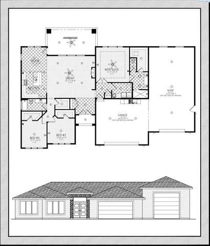 3974 Corvina St, Richland, WA 99352 (MLS #257383) :: Shane Family Realty