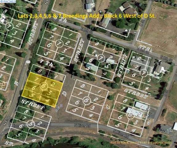 Lots 2-7 Breedings Block 6 West Of D St., Palouse, WA 99161 (MLS #230310) :: Beasley Realty