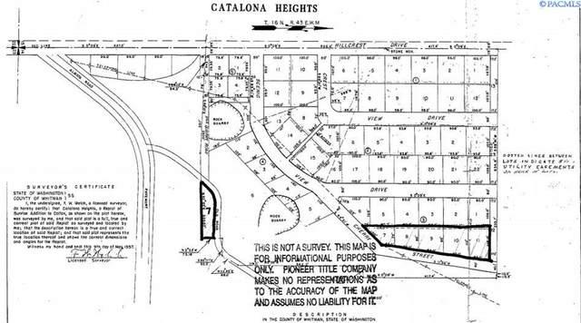 TBD Cherry St (Lot 7-11), Colfax, WA 99111 (MLS #256218) :: Tri-Cities Life