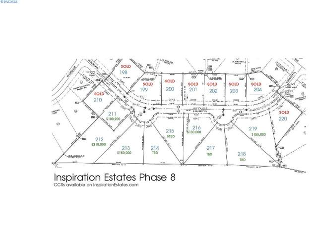 IE LOT 216 Phase Viii, Kennewick, WA 99337 (MLS #241176) :: Shane Family Realty