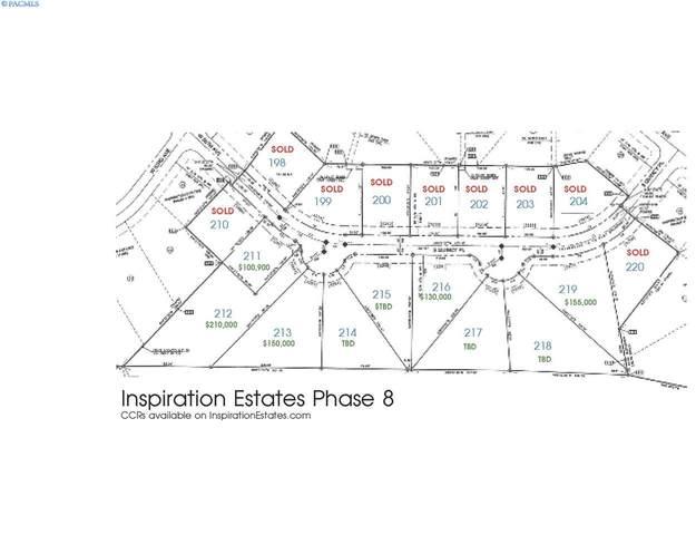 IE LOT 218 Phase Viii, Kennewick, WA 99337 (MLS #241191) :: Shane Family Realty