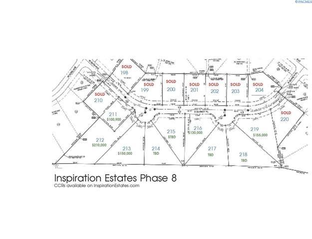 IE LOT 219 Phase Viii, Kennewick, WA 99337 (MLS #241177) :: Shane Family Realty