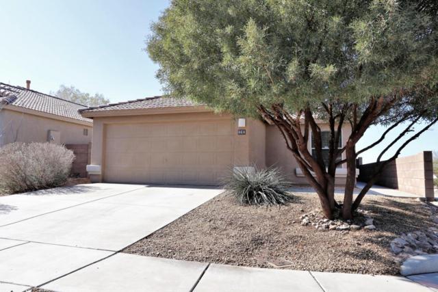 464 E Greg Rock Road, Vail, AZ 85641 (#21805474) :: Keller Williams