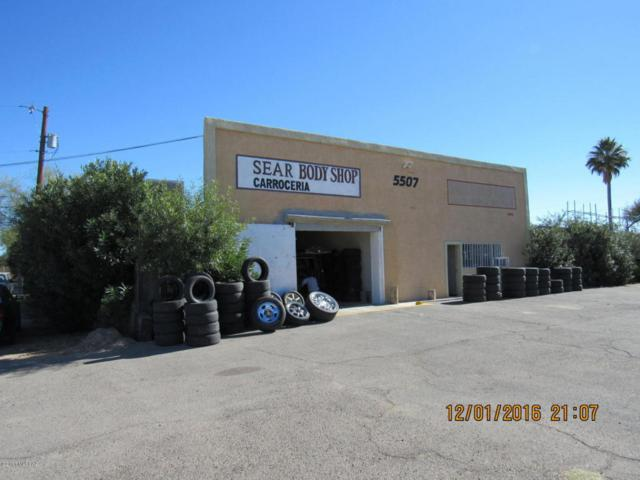 5505 S Park Avenue, Tucson, AZ 85706 (#21811033) :: My Home Group - Tucson