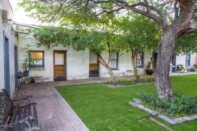 612 S Convent, (Condo #612) Avenue, Tucson, AZ 85701 (#21813119) :: The KMS Team
