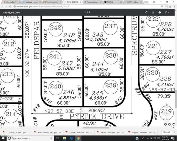 3347 S Feldspar Avenue #249, Tucson, AZ 85735 (#21813882) :: Long Realty - The Vallee Gold Team