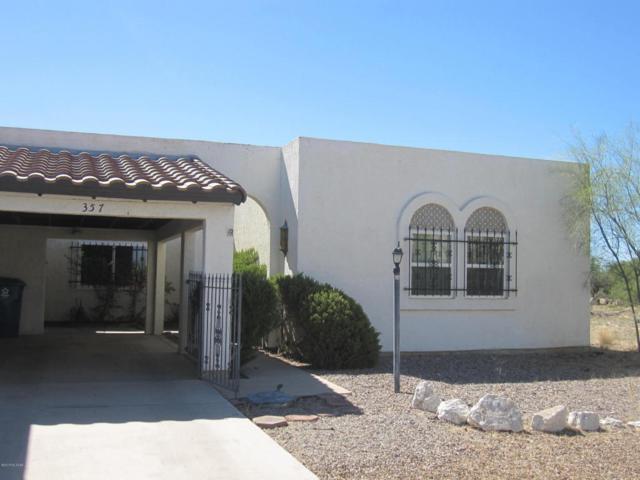 357 E Paseo Azul, Green Valley, AZ 85614 (#21816785) :: Long Realty - The Vallee Gold Team