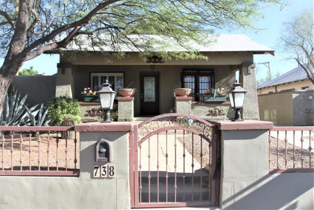 738 E Mabel Street, Tucson, AZ 85719 (#21822362) :: Long Realty Company