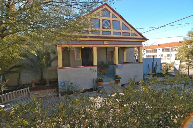 126 E 14th Street, Tucson, AZ 85701 (#21823865) :: Long Realty - The Vallee Gold Team