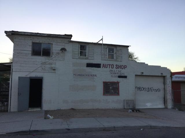 2414 S 7Th Avenue, Tucson, AZ 85713 (#21824968) :: Gateway Partners at Realty Executives Tucson Elite