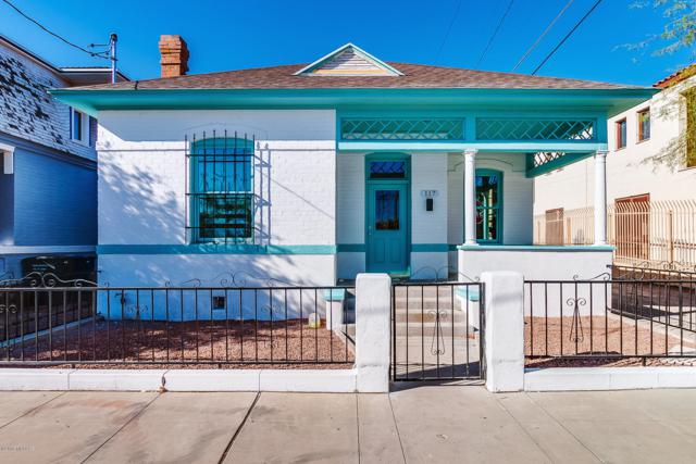 117 E 14th Street, Tucson, AZ 85701 (#21826628) :: Long Realty - The Vallee Gold Team