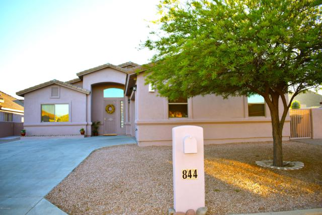 844 S Deer Meadow Loop, Tucson, AZ 85745 (#21828337) :: Long Realty Company