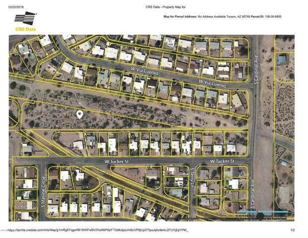 0000 Vacant Land Off Cardinal ., Tucson, AZ 85746 (#21828406) :: Long Realty Company
