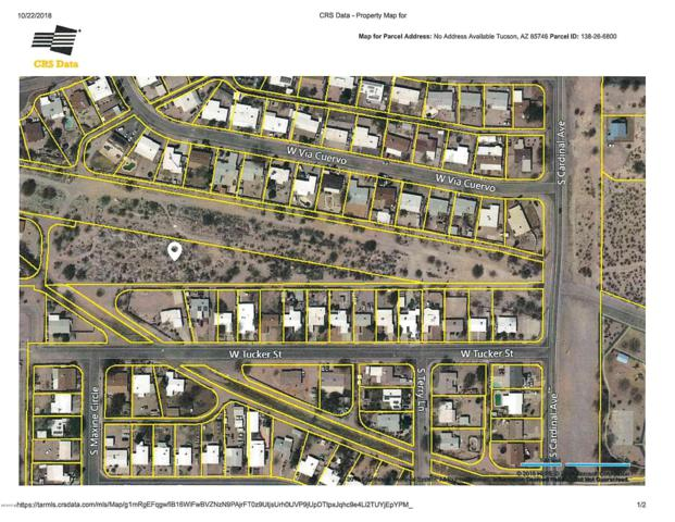 0000 Vacant Land Off Cardinal ., Tucson, AZ 85746 (#21913417) :: Long Realty - The Vallee Gold Team