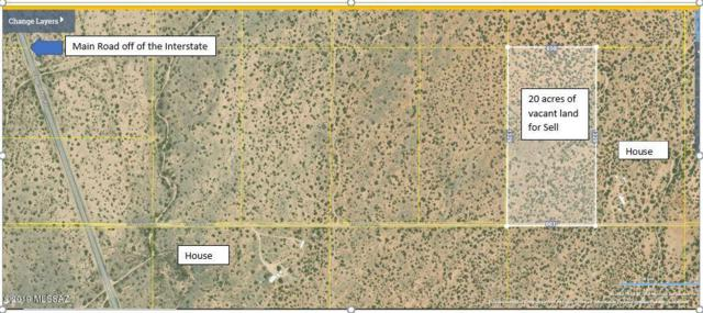 20 acres E Soaptree Lane, Bowie, AZ 85605 (#21918182) :: Long Realty Company