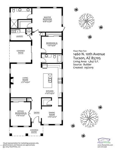 1460 N 10th Avenue, Tucson, AZ 85705 (#21924850) :: Gateway Partners | Realty Executives Tucson Elite