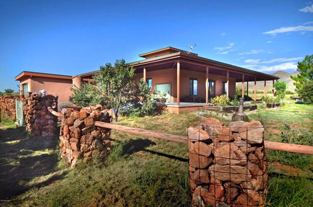 100 Mustang Ranch Road, Elgin, AZ 85611 (#21926392) :: Long Realty Company