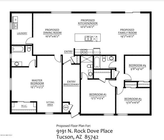 9191 N Rock Dove Place, Tucson, AZ 85742 (#21926720) :: Long Realty Company