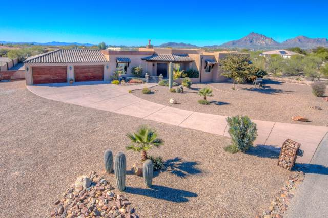 4996 Cat Mountain Road, Tucson, AZ 85757 (#21928896) :: Long Realty - The Vallee Gold Team