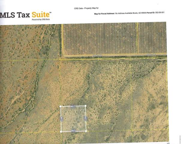 5 Acres Off Of Rodeo Drive, Bowie, AZ 85605 (#21928953) :: Long Realty Company