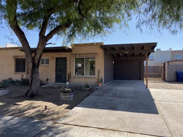 2476 S Rose Peak Drive, Tucson, AZ 85710 (#21929442) :: Long Realty - The Vallee Gold Team