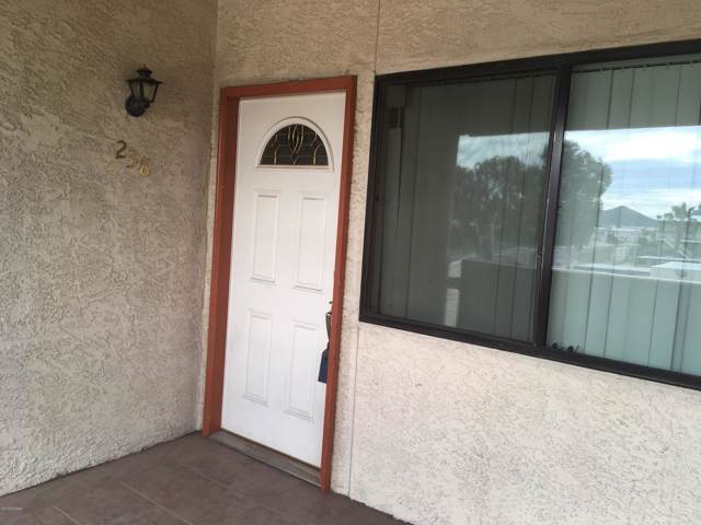455 W Kelso Street #238, Tucson, AZ 85705 (#21929636) :: Long Realty - The Vallee Gold Team