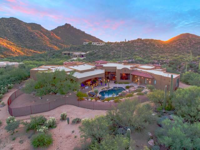 3818 W Cayton Mountain Drive, Marana, AZ 85658 (#21930477) :: Luxury Group - Realty Executives Tucson Elite