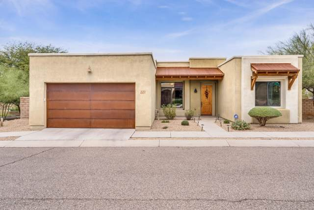 881 N Rose Water Place, Tucson, AZ 85710 (#21930980) :: Long Realty - The Vallee Gold Team