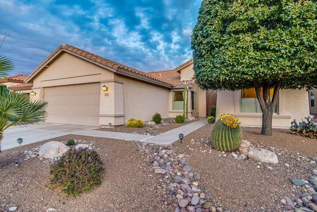 838 N Turquoise Vista Drive, Green Valley, AZ 85614 (#22000874) :: Long Realty - The Vallee Gold Team