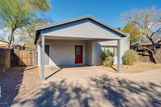 4109 E Los Robles Street, Tucson, AZ 85712 (#22001376) :: Long Realty - The Vallee Gold Team