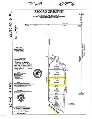 1446 Alvie Lee Lane, Benson, AZ 85602 (#22001599) :: Long Realty - The Vallee Gold Team