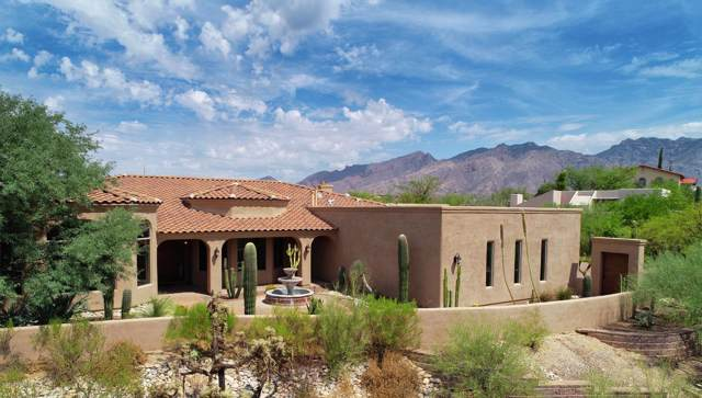 4002 N Via Tranquilo, Tucson, AZ 85750 (#22001672) :: Long Realty - The Vallee Gold Team