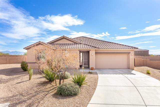 14163 N Bronze Statue Avenue, Marana, AZ 85658 (#22002234) :: Realty Executives Tucson Elite