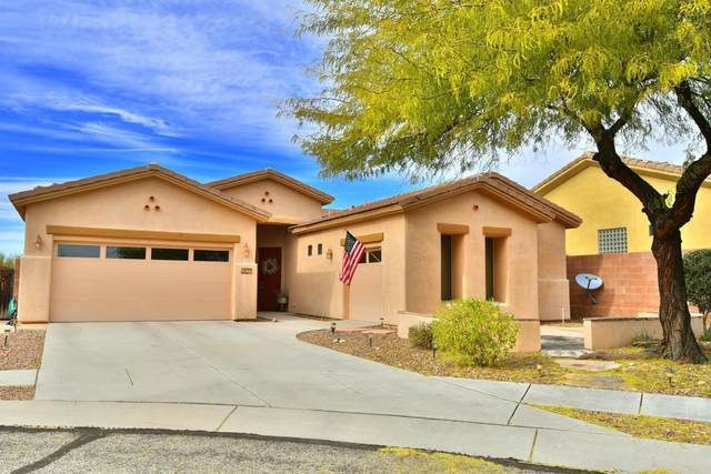 12841 N Cactus Terrace Place, Marana, AZ 85658 (#22003599) :: Long Realty Company