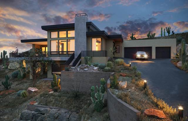 7342 N Secret Canyon Drive, Tucson, AZ 85718 (#22003747) :: Long Realty - The Vallee Gold Team