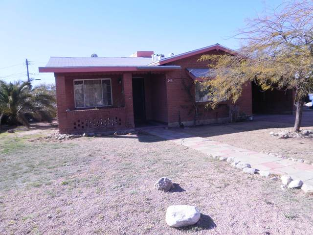 2451 N Richey Boulevard, Tucson, AZ 85716 (#22003752) :: The Local Real Estate Group | Realty Executives