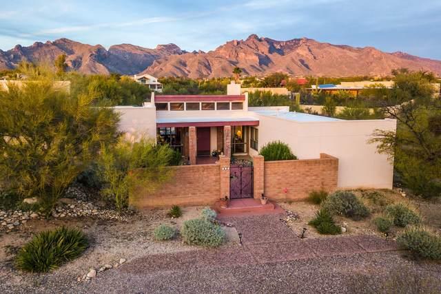 815 E Placita De Roberta, Tucson, AZ 85718 (#22004432) :: Long Realty Company