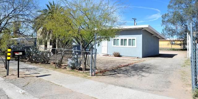 2402 S Tucson Stravenue, Tucson, AZ 85713 (#22004456) :: Long Realty Company