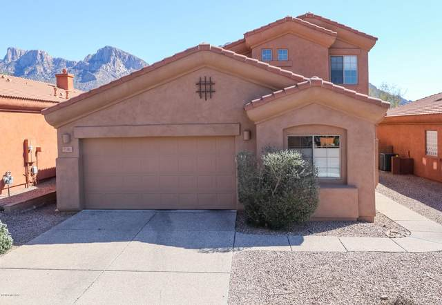 192 E Brearley Drive, Oro Valley, AZ 85737 (#22004764) :: Long Realty Company