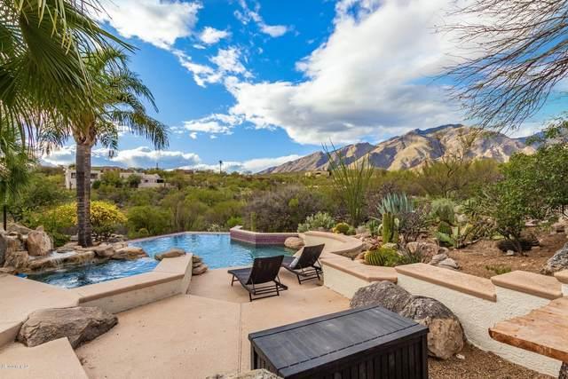 6539 E Via Amable, Tucson, AZ 85750 (#22007200) :: Long Realty - The Vallee Gold Team
